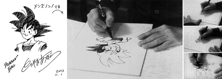 Mangakas famosos trabajando [Dibujos/bocetos]