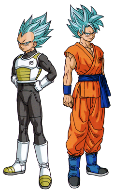Dragon Ball Super - Toriyama interview Ssgss