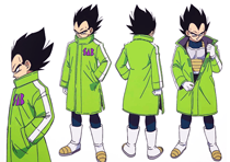 Vegeta (Arctic Clothes)