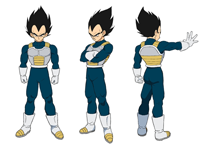 Vegeta (Normal/Armor)