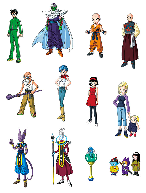 Character Design Dragon Ball Z : News official quot revival of f website character profiles