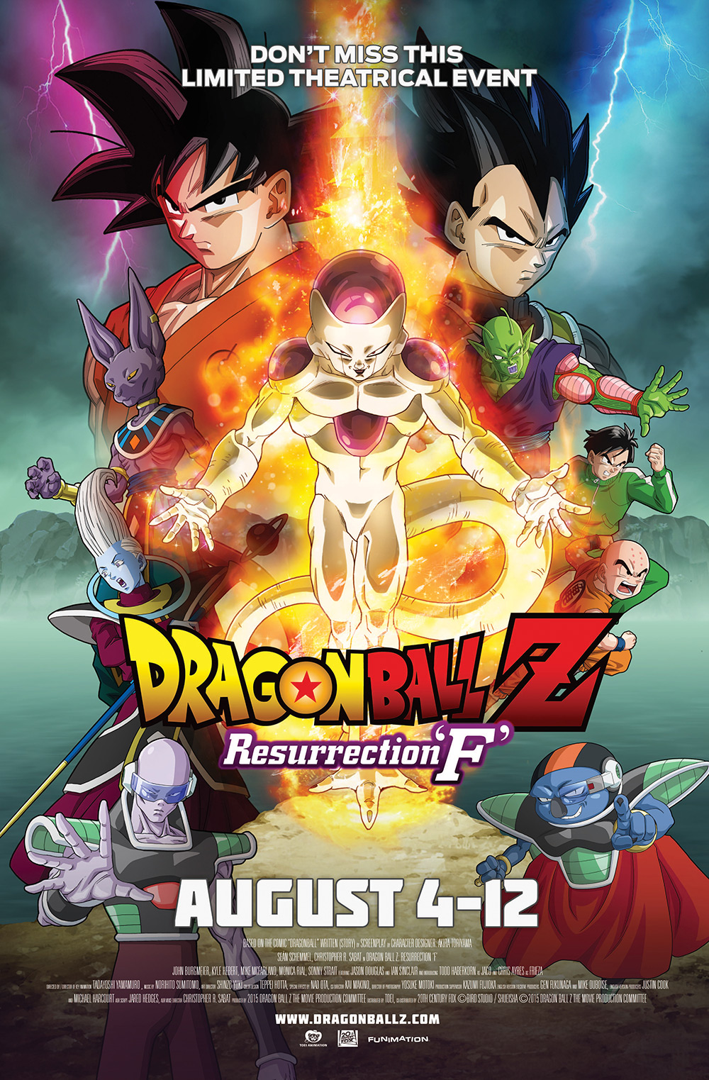 Dragonball Resurrection F Stream