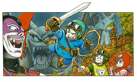 "The artwork was recently included in the ""Akira Toriyama Dragon Quest  Illustrations"" hardcover book released in 2016."