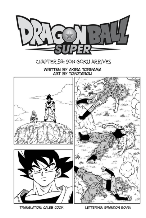Dragon Ball Super Manga Chapter 58 English Translation Available Kanzenshuu