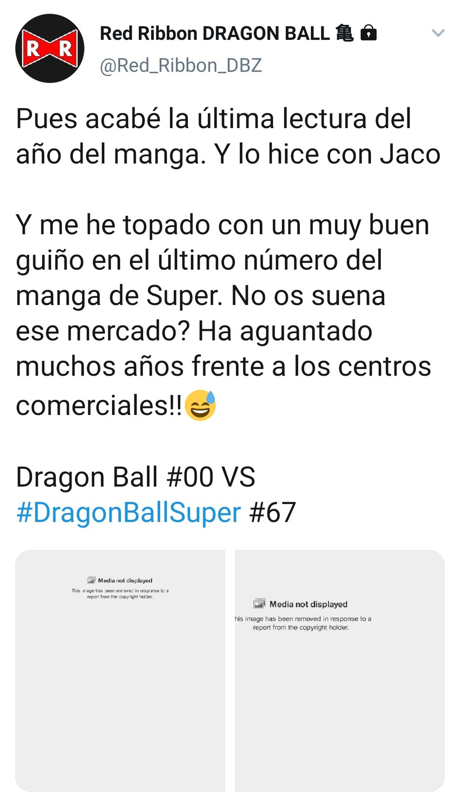 DMCA jogi követelések Twitteren Dragon Ball és egyéb anime tartalmak ellen 2